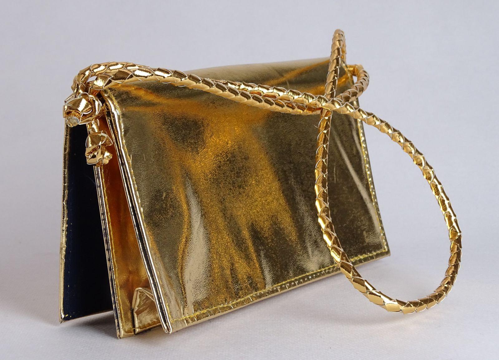 d96107304f0d 0J928 Aranyszínű női táska laptáska szinházitáska - 6500 Ft ...