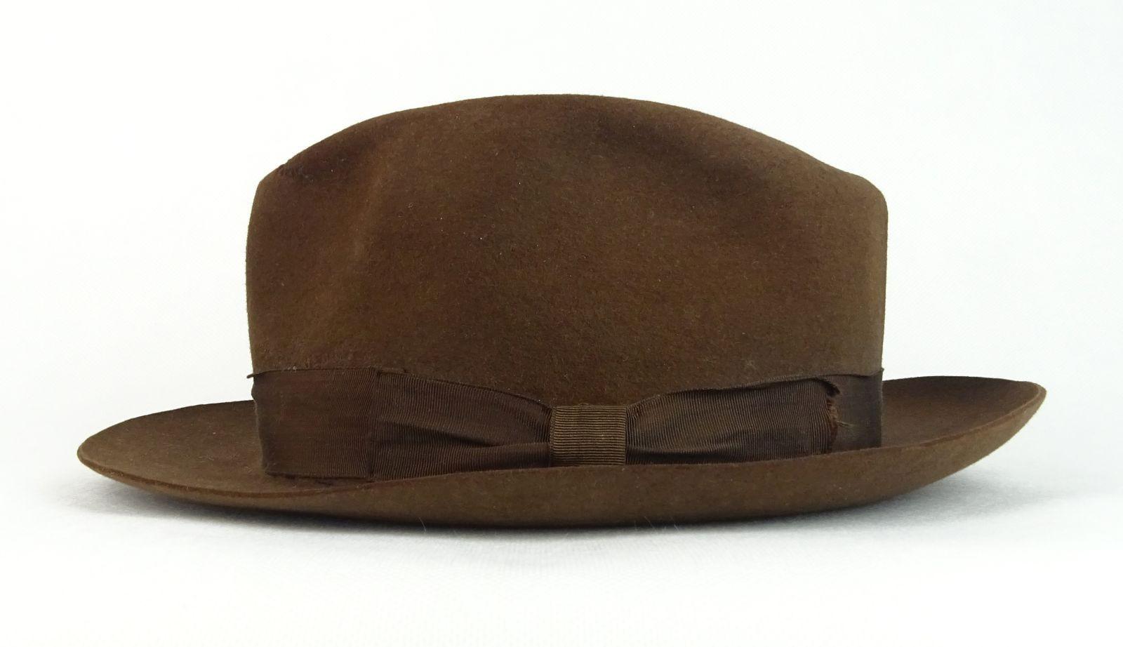 0R815 Régi barna Cervantes argentin férfi kalap - Kendők 3a49dc4af5