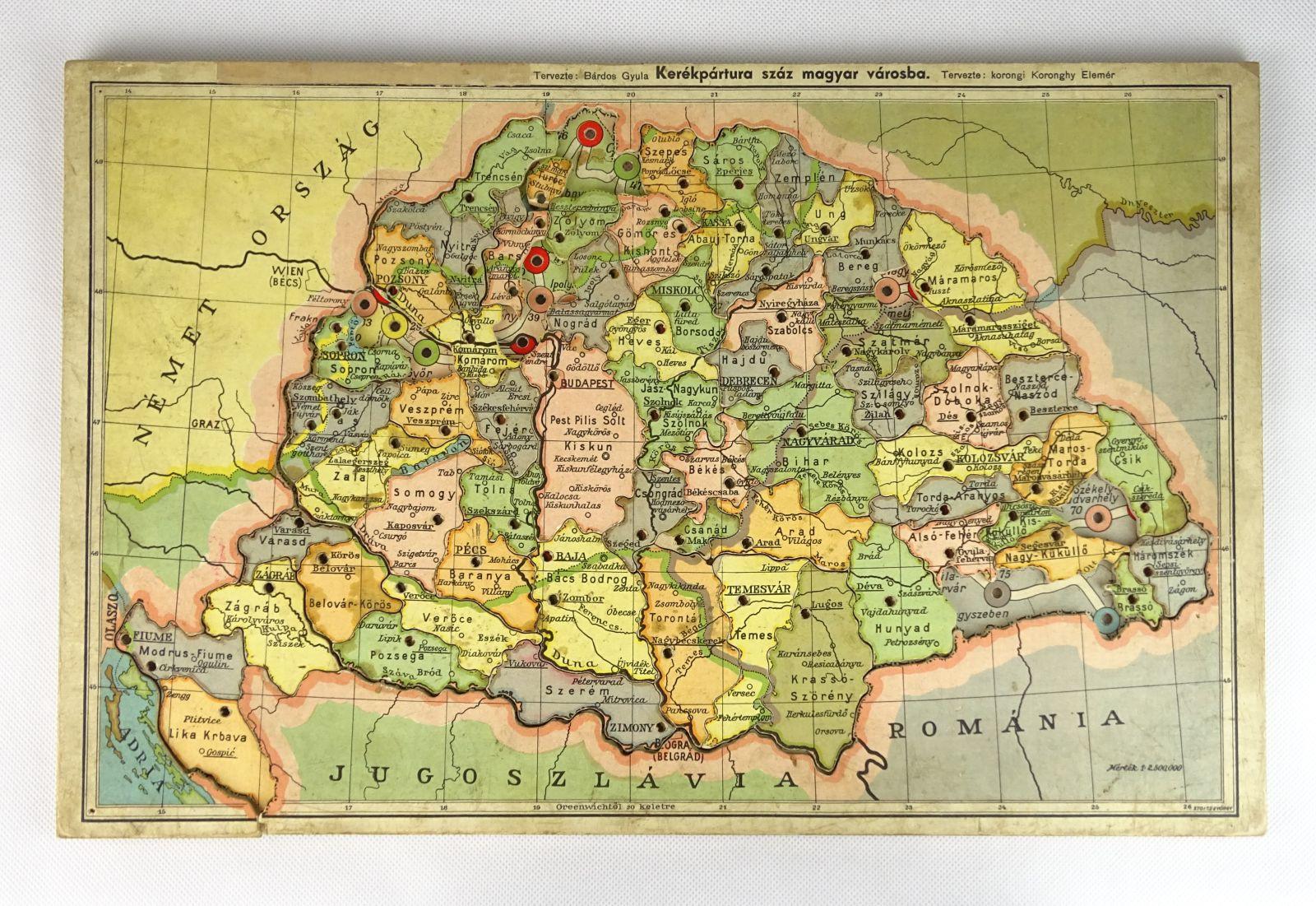 A Magyar Szent Korona Orszagai Kirakos Ujdonsag Magankiadas Puzzle