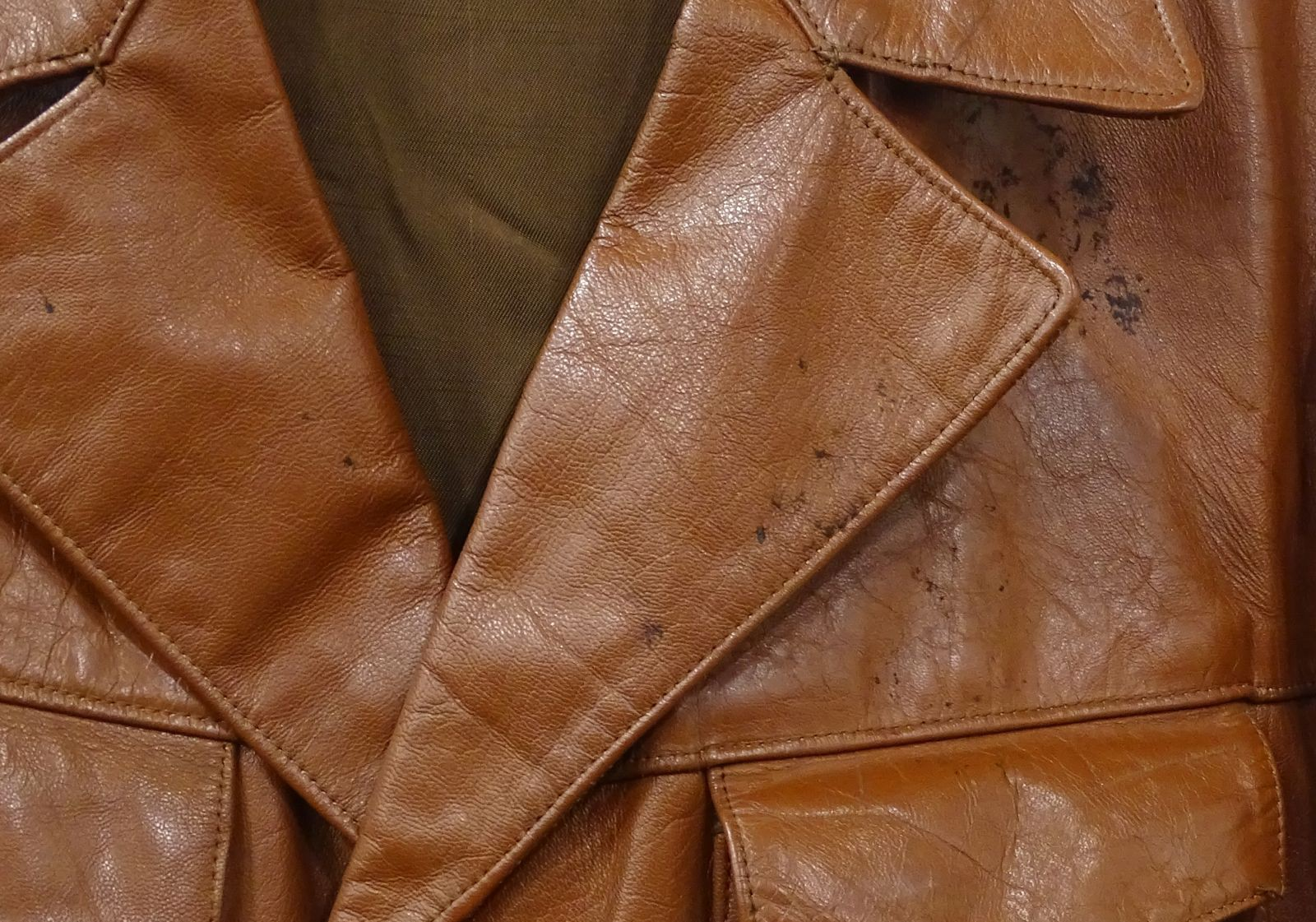 f43afb59e3 0U823 Régi barna férfi bőrkabát - 7800 Ft - (meghosszabbítva ...