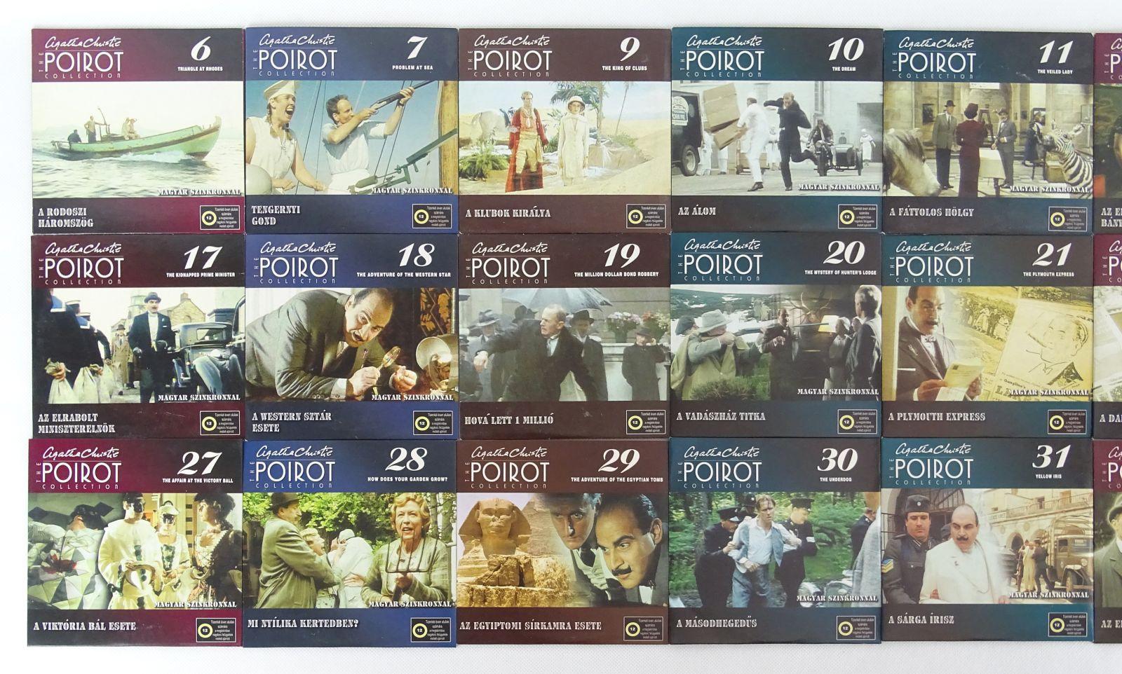 Agatha Christie: Az órák (Poirot sorozat) (DVD) Krimi DVD